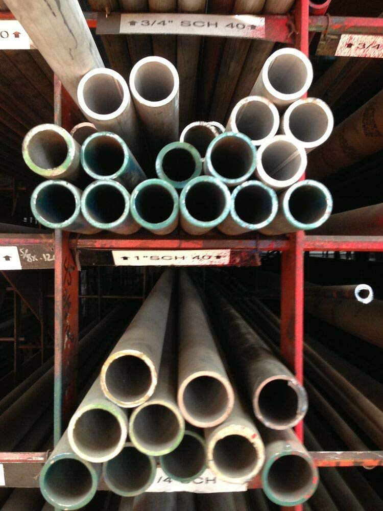 2 SCH 80 x 48 Alloy 304 Stainless Steel Pipe