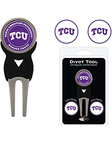 6780ec42c0c Team Golf NCAA Divot Tool with 3 Golf Ball Markers Pack