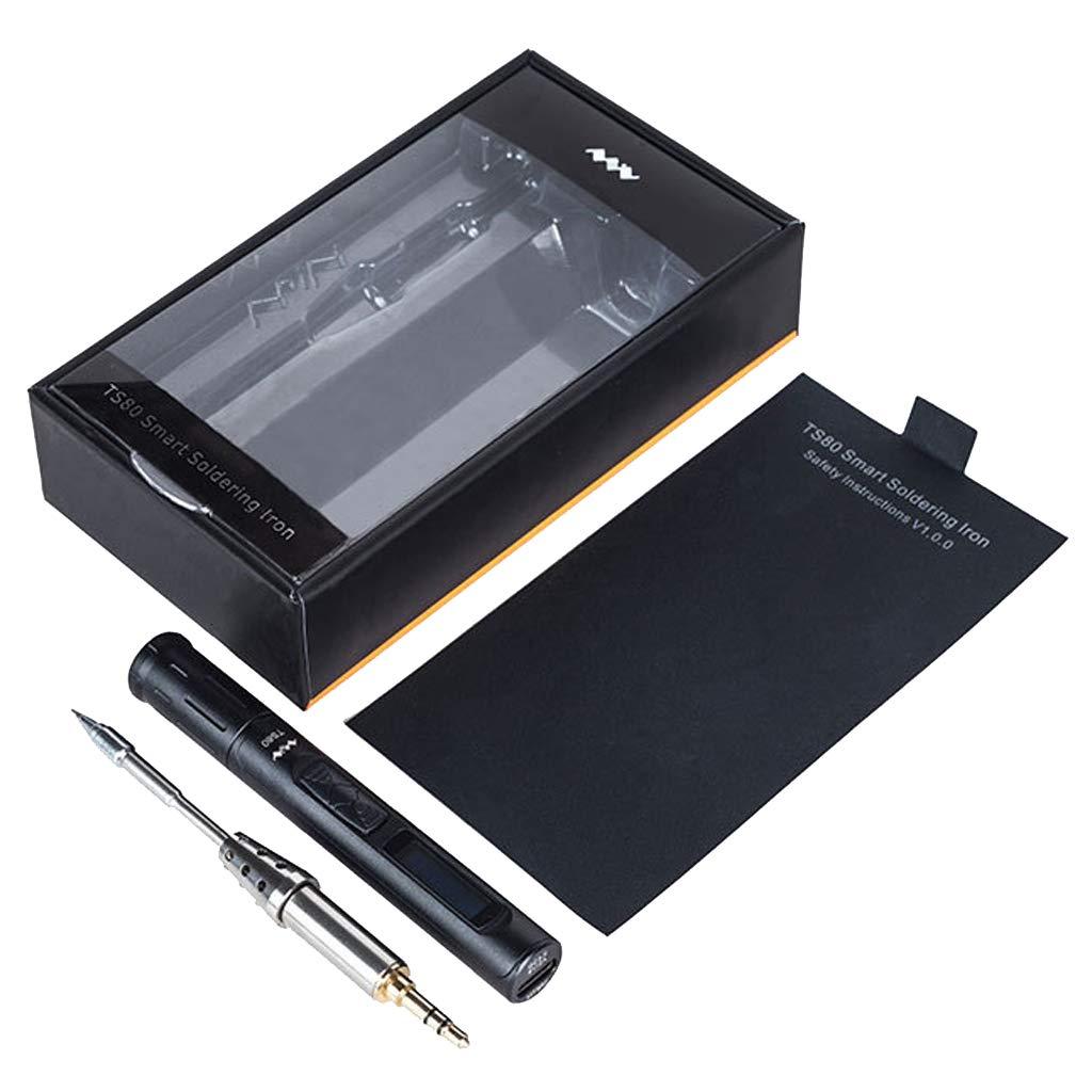 Sharplace Oled Mini Ts80 Smart Fer /à Souder Num/érique Usb Type-c Alliage Outil De Soudure