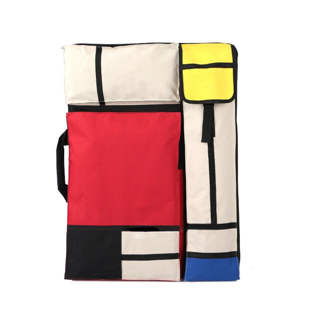 Aufoby Art Portfolio Case Bag Carry Backpack Colorized,25-1/2