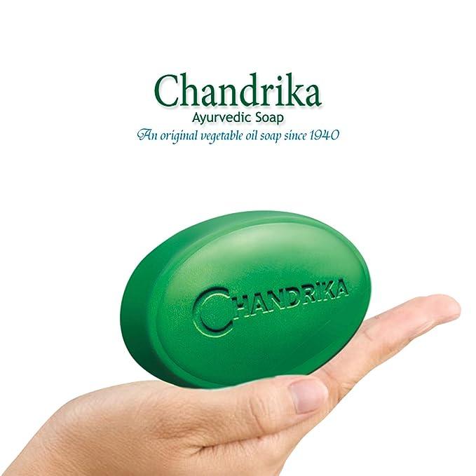 Guru-Shop Chandrika baño jabón Ayurveda - 75 gramos, 10 unidades: Amazon.es: Belleza