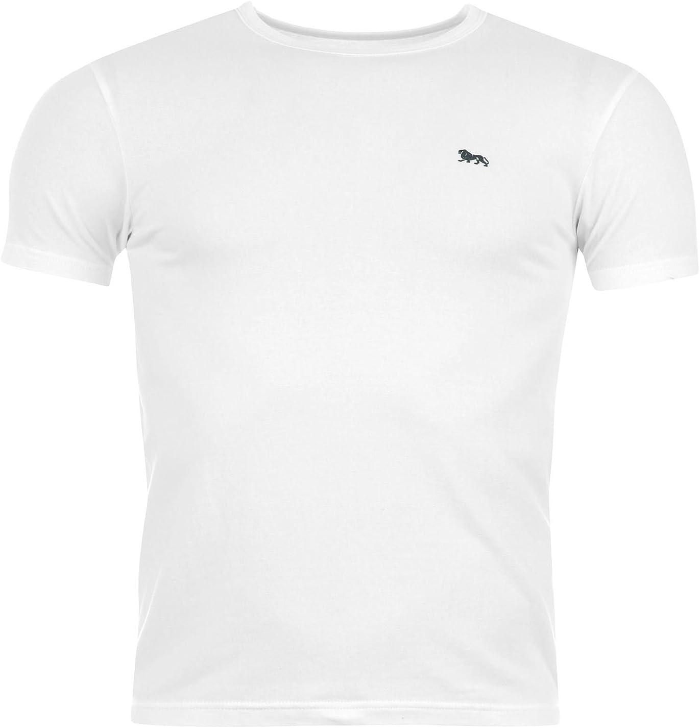 Lonsdale - Camiseta - Cuello Redondo - Manga Corta - para Hombre ...