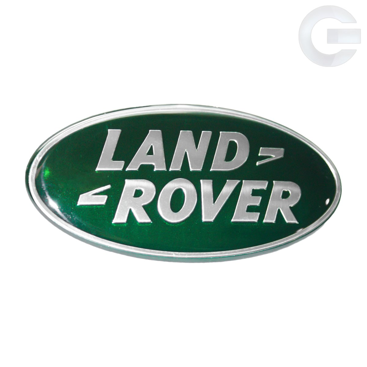 Land Rover Range Rover Defender Oval Replacement Emblem Green /& Silver Universal Gizmo