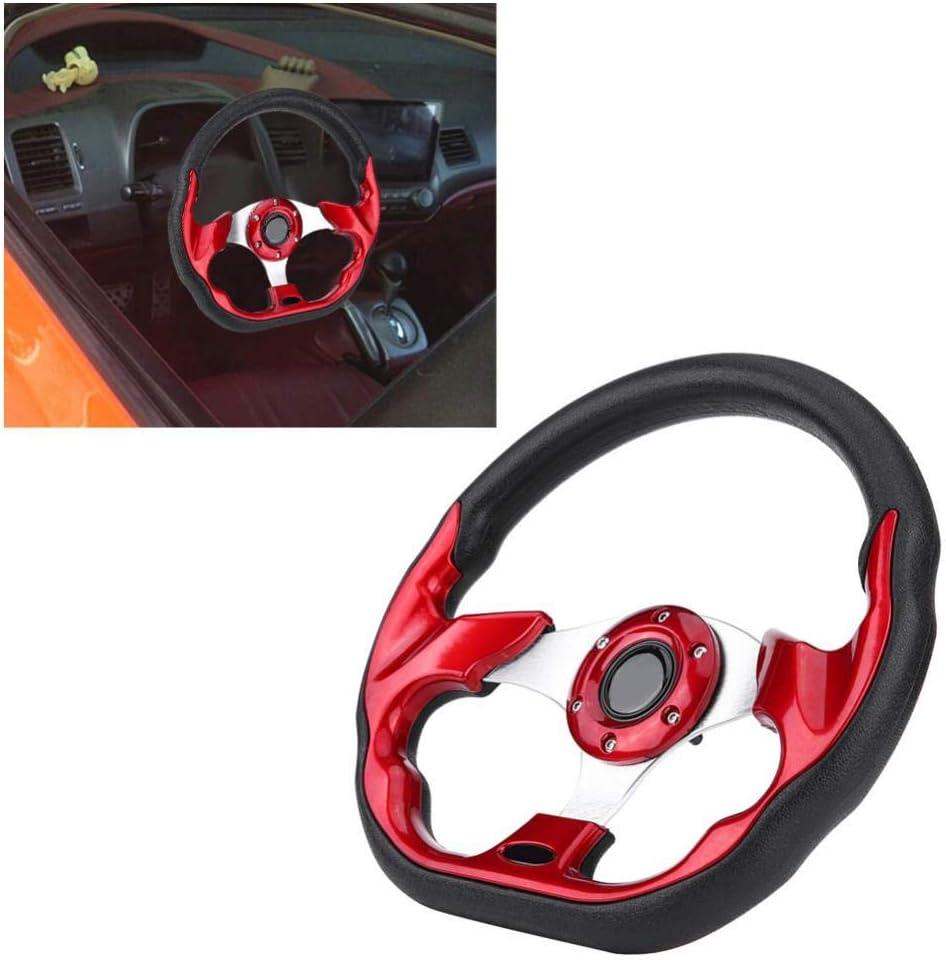 rot Racing Modifikation Mini Lenkrad Mini Lenkrad 320mm
