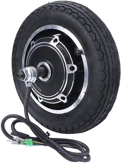 Keenso Motor de Cubo de Rueda de 10 Pulgadas, Neumático de 24/36/48 V 350 W para Bicicletas eléctricas de Motor, Scooter eléctrico: Amazon.es: Deportes y aire libre