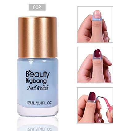 BEAUTYBIGBANG - Cinta de látex líquido para uñas y cutículas, protector de piel para manicura