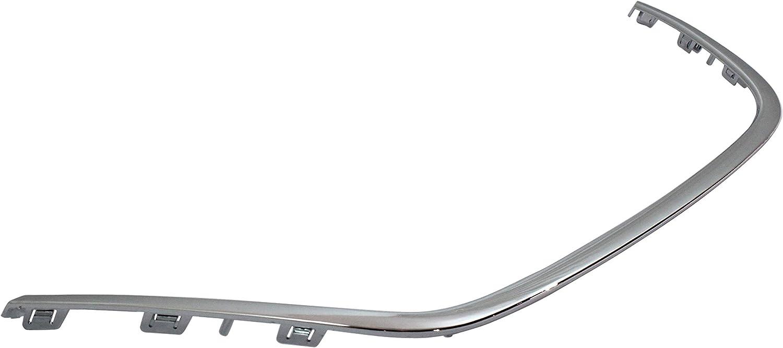 Front Bumper Trim for HYUNDAI SONATA 2009-2010 RH Chrome Insert