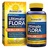 Renew Life Extra Care Probiotic, Ultimate Flora, 150 Billion, 30 Capsules