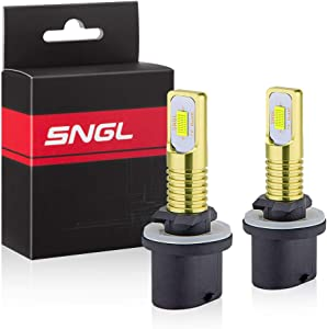 SNGL 880 LED Fog Light Bulb 6000k Xenon White Extremely Bright High Power 880 899 893 890 892 LED Bulbs for DRL or Fog Light Lamp Replacement