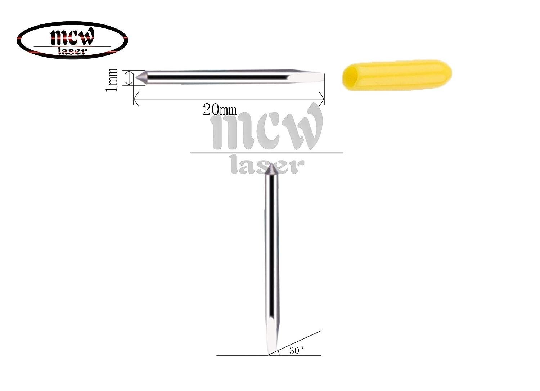 TUONAI - Soporte para cortador de vinilo con 30 cuchillas de corte ...