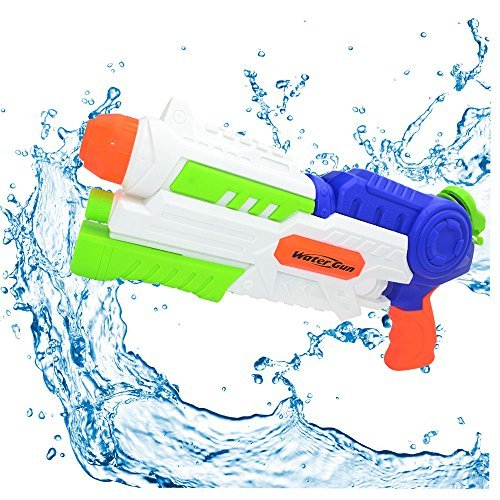 Super Water Gun 1200CC Moisture Capacity Party Outdoor Activity Water Fun Blaster 34ft Effective Distance Squirt Gun Soaker for Children Adults by WYOK