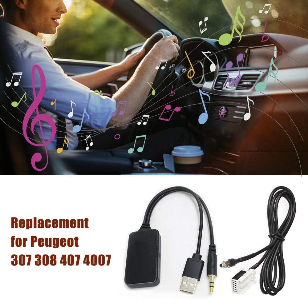 Voupuoda Car Aux USB BT Adapter RD4 Aux-in Audio Cable de ...