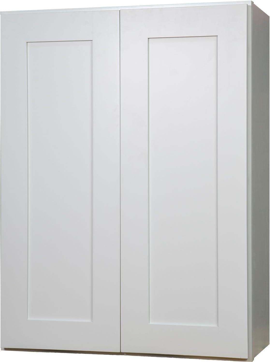 Amazon Com Everyday Cabinets 27 Inch Double Door Wall