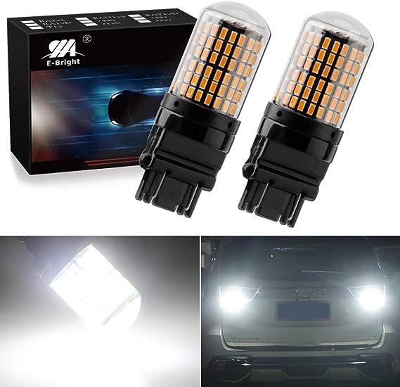EverBright Extremely Bright 3250Lumen 3157 LED Brake Light Bulbs