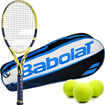 Amazon.com : Babolat Pure Aero 25 Inch Racquet Junior Player ...
