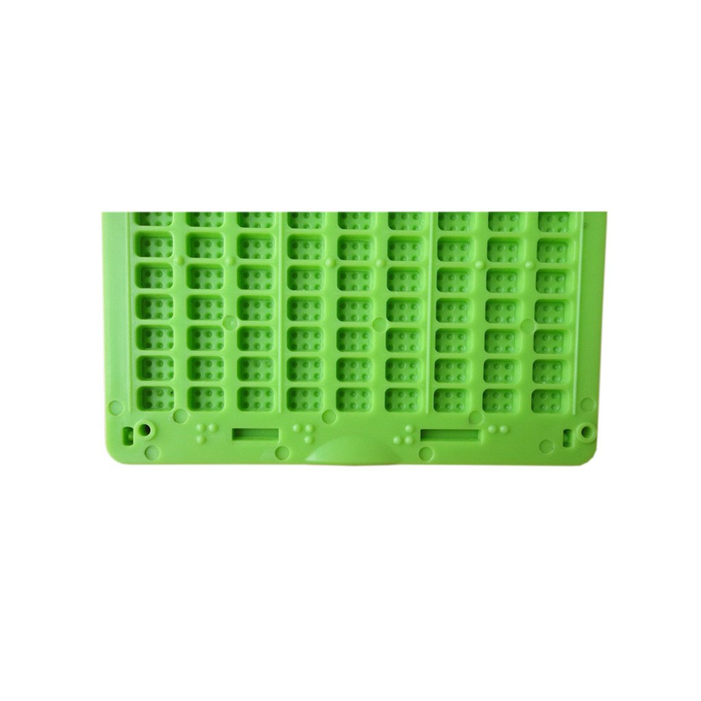 Vision One - Pizarras para Braille con Punzon, 9 Renglones, 28 ...