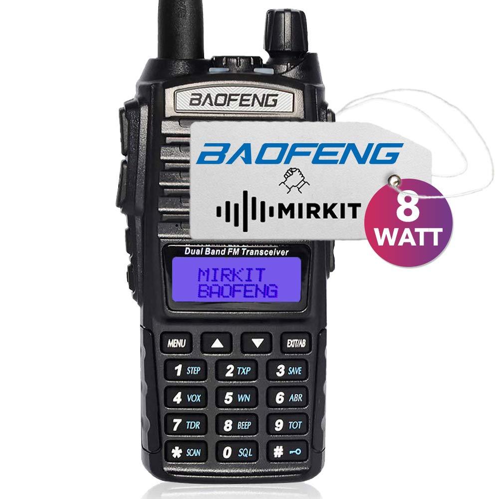 Mirkit Radio Baofeng UV-82 MK5 MP Max Power 8W 2800 mAh Li-Ion Battery Pack, Mirkit Edition by Mirkit