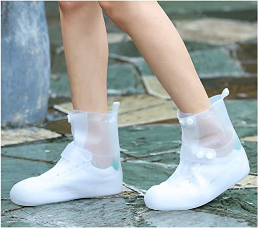 Boots Overshoes Galoshes for Rain and Snow Weather Waterproof Shoe Covers