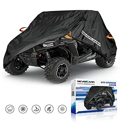UTV Cover, Waterproof Heavy Denier Oxford Cloth Material for Polaris RZR Yamaha Rhino Can-Am Defender Honda Pioneer Kawasaki Mule Teryx 2-3 Passenger: Automotive [5Bkhe2004965]