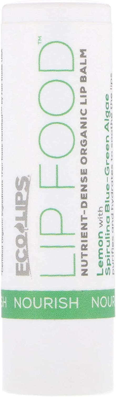 Nourish Lip Balm Lemon ECO LIPS 0.15 oz Stick