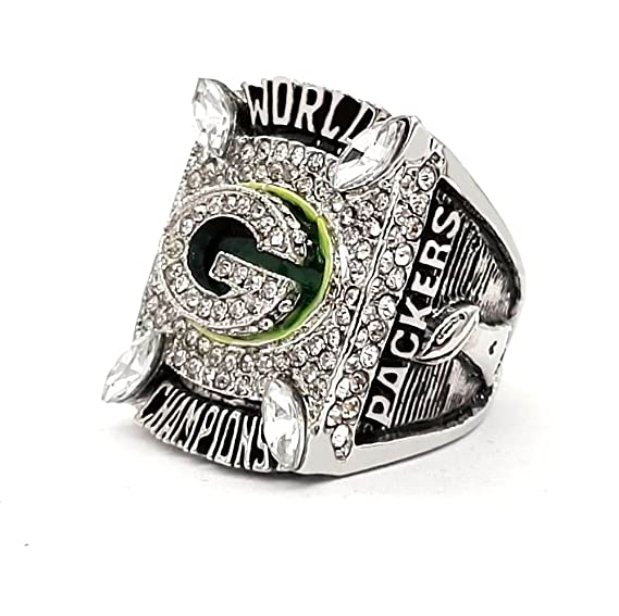 Amazon.com   Green Bay Packers Super Bowl XLV 2010 Ring - Aaron Rodgers  (11)   Sports   Outdoors e3852f9c4