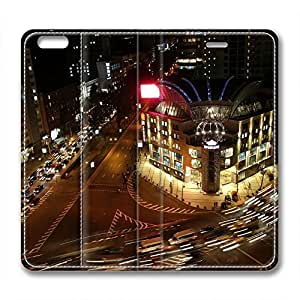 Night Scene Design High Quality Leather Iphone 6 Case Theater