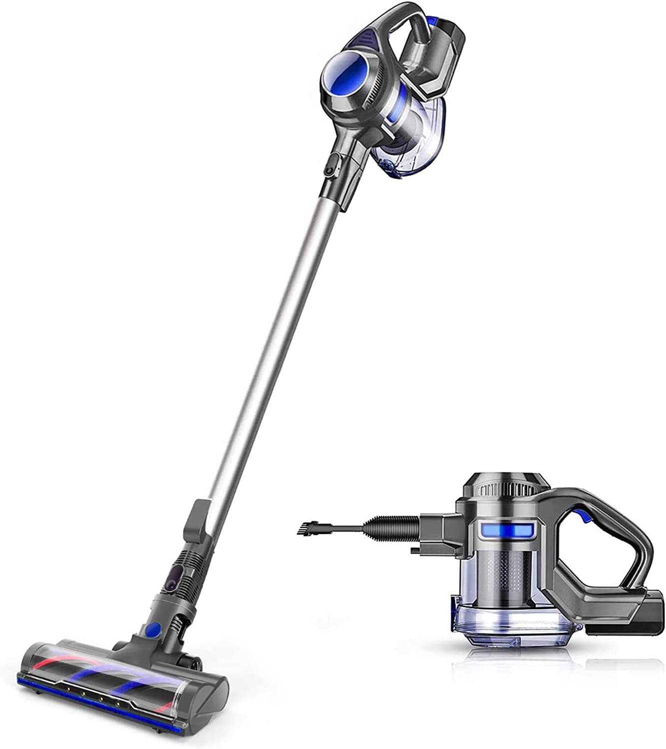 MOOSOO Cordless Vacuum 4-in-1 Suction Stick