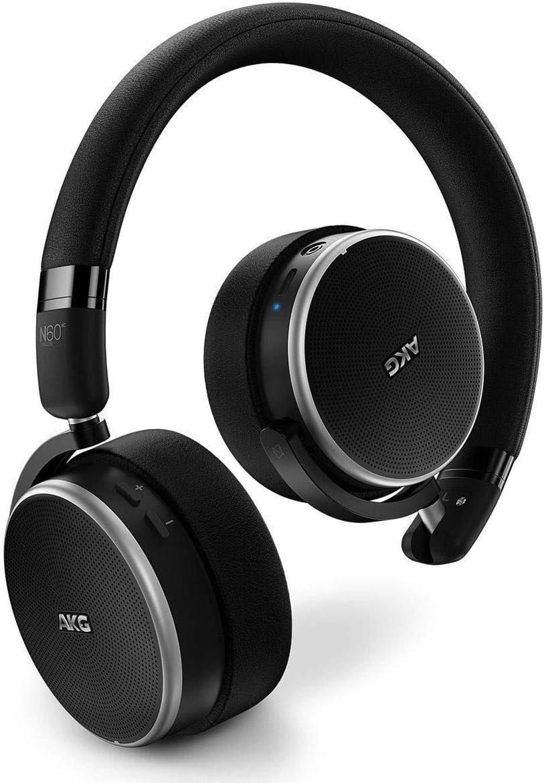 AKG N60NC N60 NC - Auriculares inalámbricos con Bluetooth, color negro