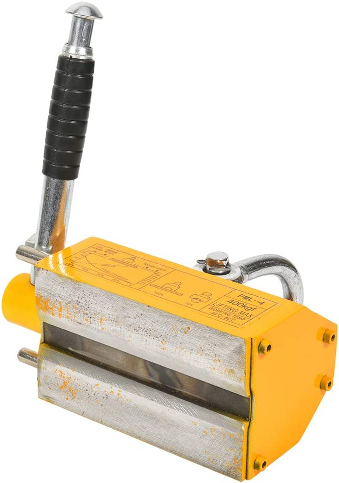 CTCAUTO 400 KG Industrial Steel Magnetic Lifter Crane Hoist Lifting Magnet 880lb