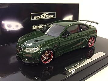 Modellauto Bmw M2 Ac Schnitzer L2 2016 Grün Limitiert Auf 555 Stück