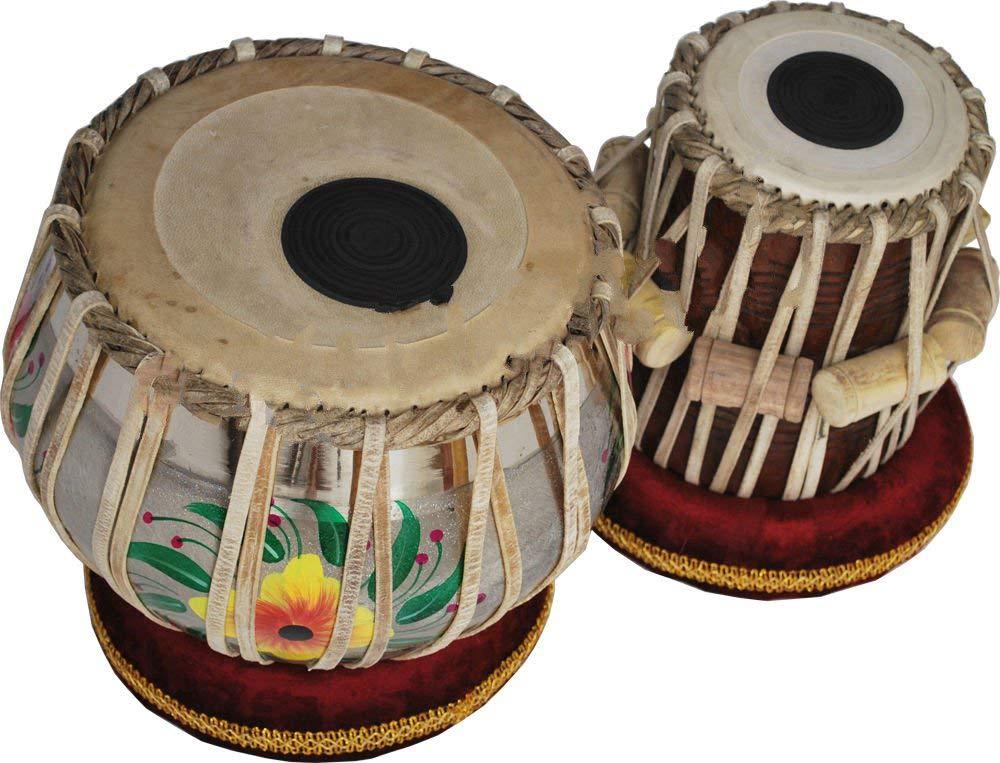 【ポイント10倍】 Makan Percussion B07QFVHWJY & Sheesham Wood Hand Made Brass Bayan & Dayan Tabla Set Percussion Musical Instrument with Carry Bag & Cushion B07QFVHWJY, このえパン:61a6aedd --- a0267596.xsph.ru