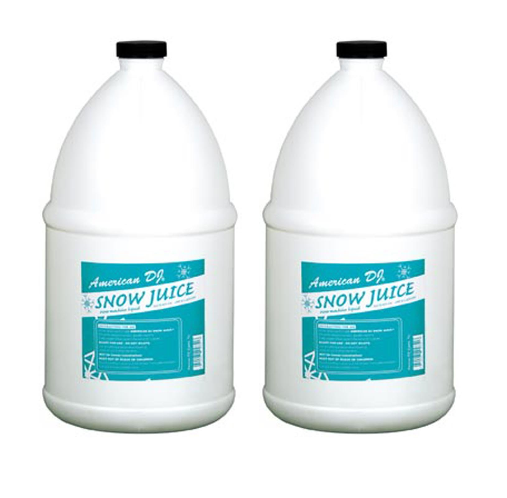 ADJ Products (2) Gallons American DJ Snow Gal Juice Dense Bubbles for VF Flurry Snow Machines