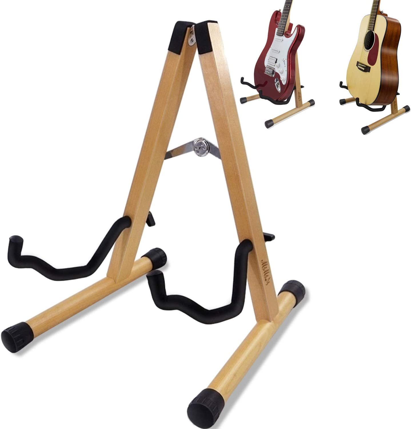 Guitar Stand Folding Universal A frame Stand for All Guitars Acoustic Classic