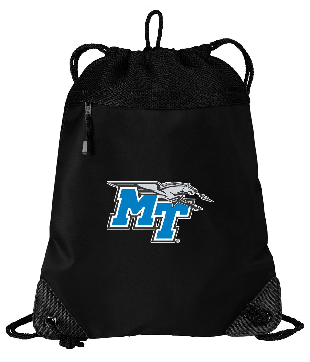 MT巾着バッグMiddle Tennessee Cinch PackバックパックUniqueメッシュ&マイクロファイバー   B07DFV49D9