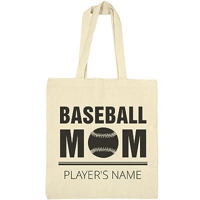 Cute Custom Baseball Mom: Liberty Bargain Tote Bag