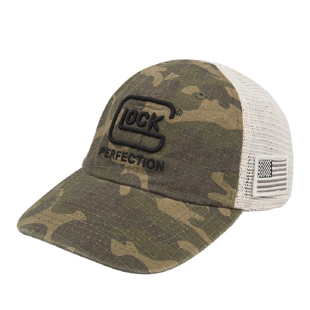 Glock Perfection OEM宣言マルチカムメッシュ野球キャップ帽子with Glockロゴとアメリカ国旗ap95425   B079LN2LXV