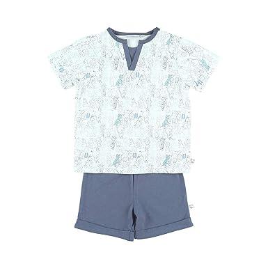 8f2fd97ad9aab Noukies Z830142 Pyjama 2 pièces en Jersey Enfant Garçon  Amazon.fr ...