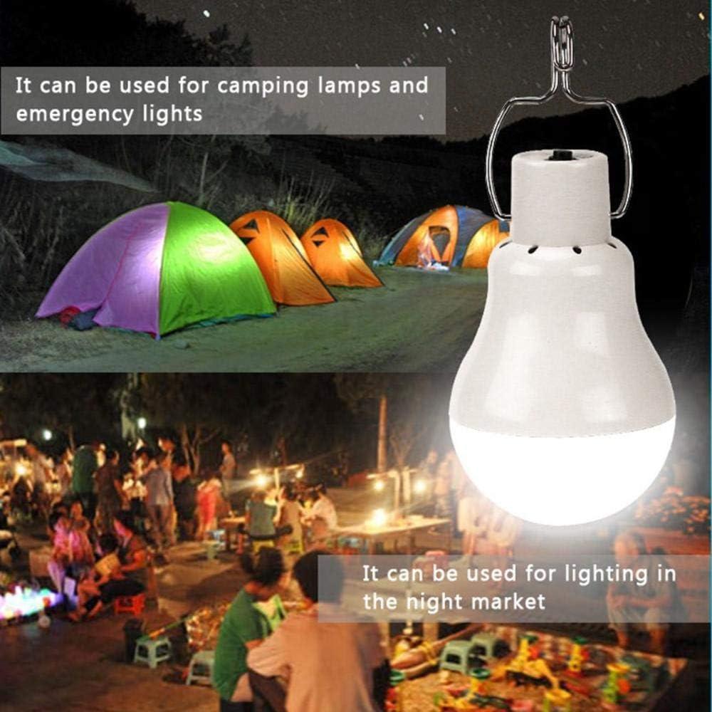 20W 150LM LED Solar Lamp Light Bulb Outdoor Garden Solar Power Lighting Lamp USB Rechargeable Energy Saving Bulb