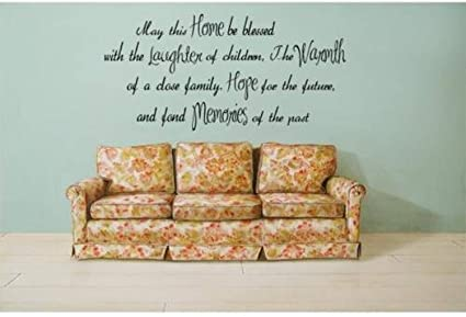 com home laughter warmth hope memories quote lettering