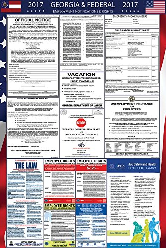2017 Georgia and Federal Labor Law Poster Updated
