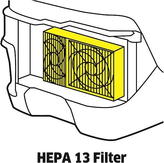 DS6000, 3 pcs Lavable KARCHER Filtre high-efficiency particules HEPA Robot aspirateur pièces pour DS5500