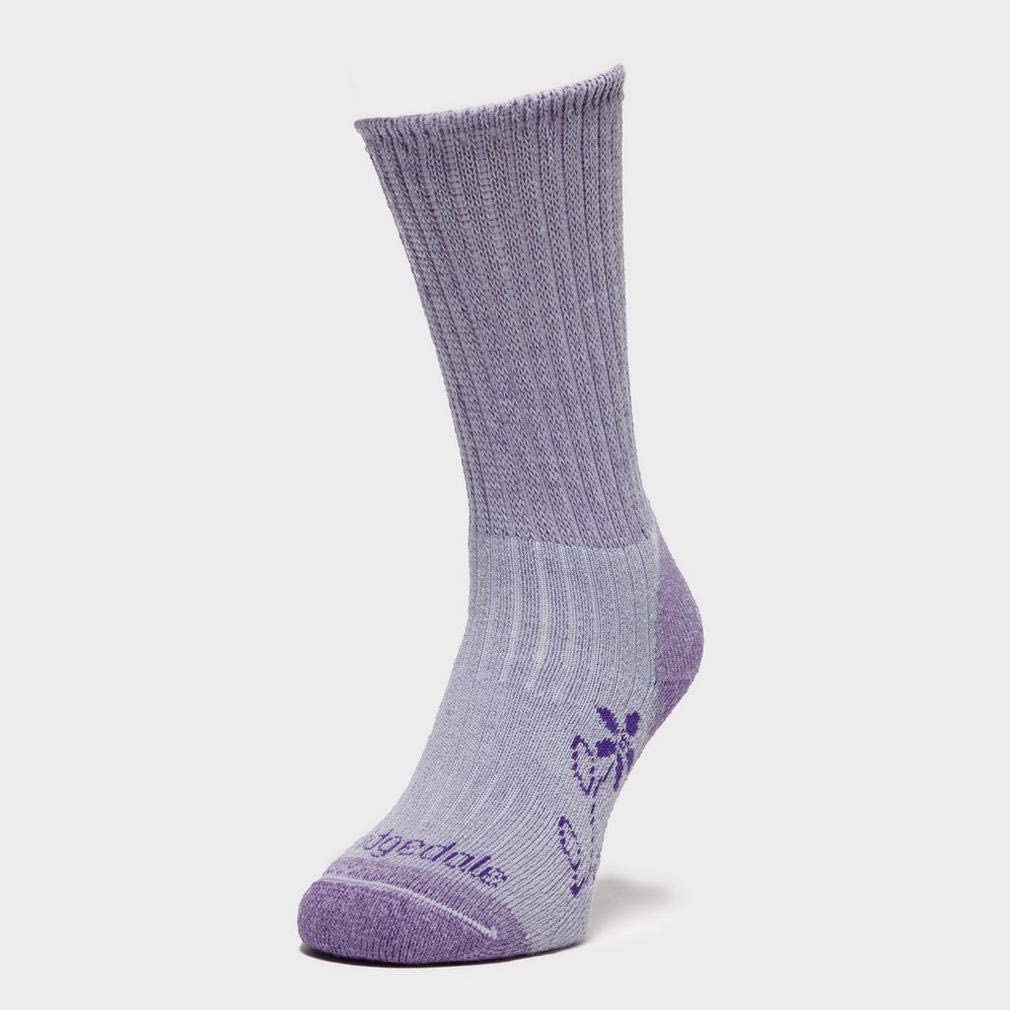 Bridgedale MerinoFusion Trekker Women/'s Walking Hiking Sock Lavender NEW