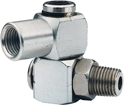550600 with JAS-38 3//8 NPT Fittings Benchtop Sand Rammer Air Swivel Jet Jct-1600