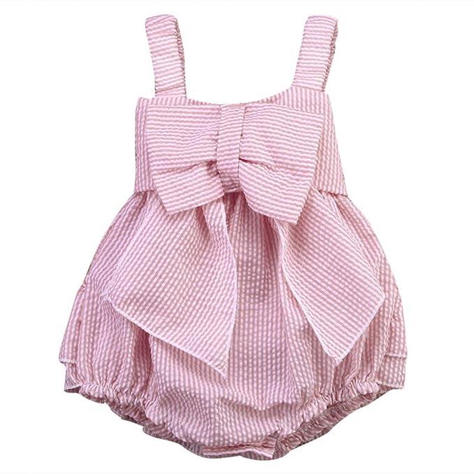 El bebé Recién Nacido Ropa de la Blusa,AZXES,Vestido el verano para Niñas