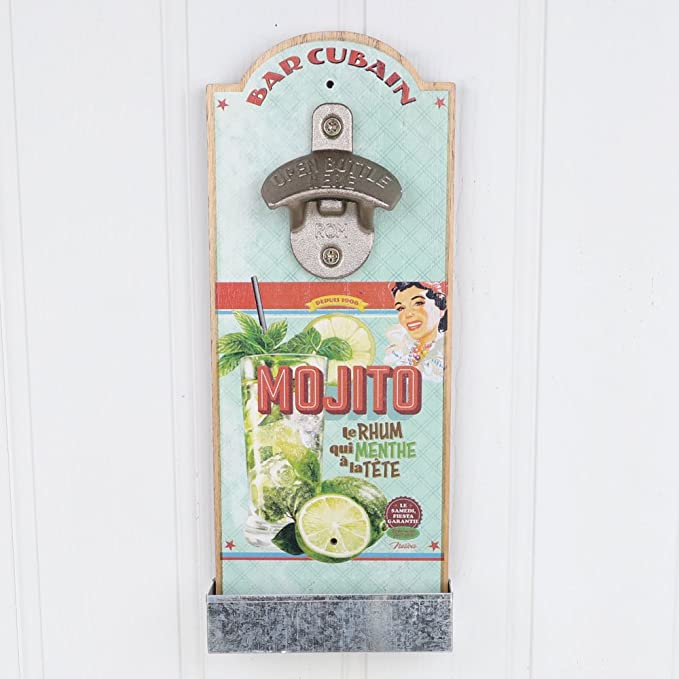 Compra Dibor - French Style Accessories For The Home Inusual Mojito montado en la pared abridor de botella - el regalo perfecto para un artista Keen - un ...