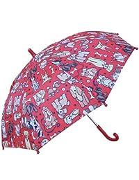 RainStoppers W104CHMDOGS Kid's Dogs Print Umbrella, 34-Inch