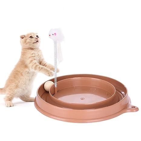 yunt juguete circuito laberinto educativo con bolas para gato/Gatito