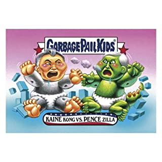 GPK: Disg-Race To The White House: Kaine Kong vs. Pence Zilla, Card 12 Topps