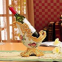 Hynbase Luxury Retro European-style Resin Wine Rack