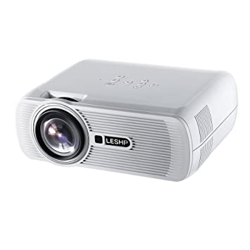 Proyector, Dpower casa proyector HD 1920 x 1080P LED Proyector ...